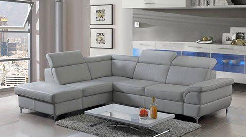 Угловой диван на высоких ножках bobby מערכת ישיבה פינתית על רגליים גבוהות