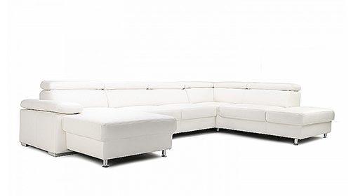 угловой модульный диван campino