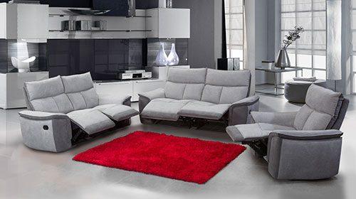 диван с реклайнерами grande1-2-3 ספה אורתופדית בעיצוב מודרני