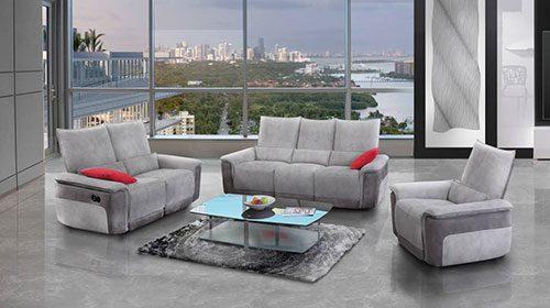 эргономичный диван с реклайнерами ספה ארגינומית עם רקליינרים