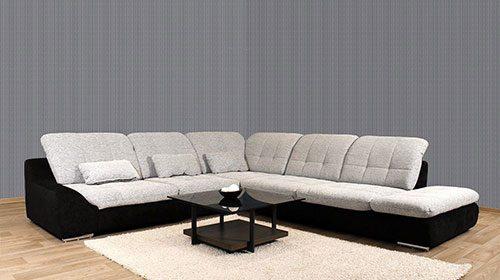 диван со встроенной кроватью и ящиком spike ספה מודולרית פינתית