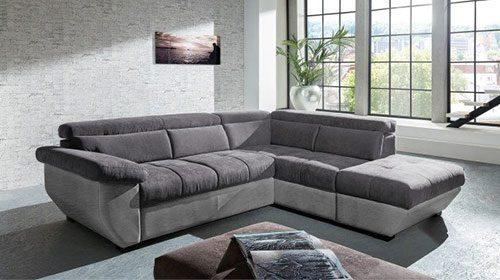 ספה פינתית עם מיטה