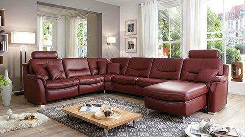 Hukla ספה מעור סגנון Hi-Tech פרמיום