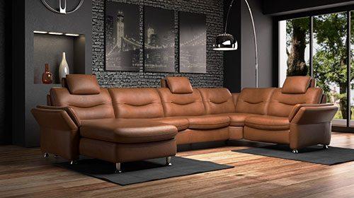 hukla кожаный диван