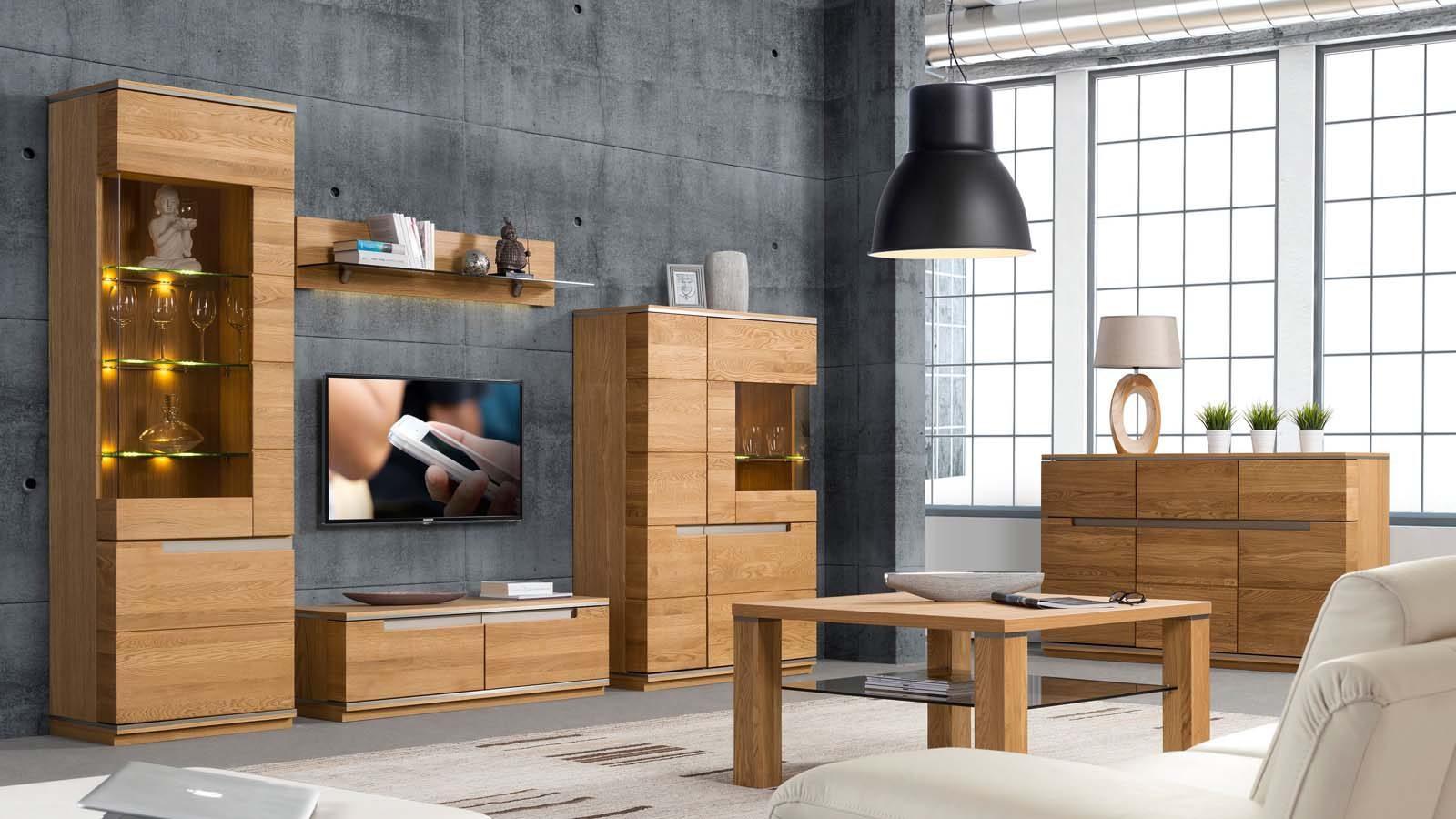 oak-forest коллекция гостиной мебели