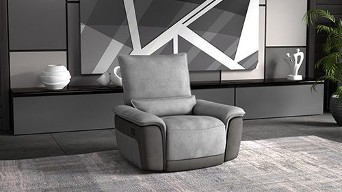 эргономичное кресло с реклайнером