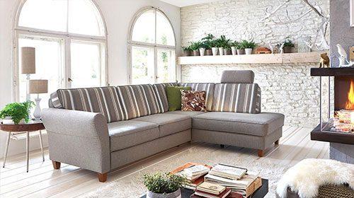 Угловой эргономический диван