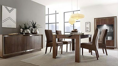 мебель в салон комбинация дерева и металла sky מזנון שילוב עץ ומתכת