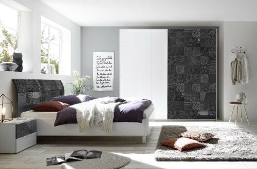 חדר שינה בצבע לבן garetta белая спальня