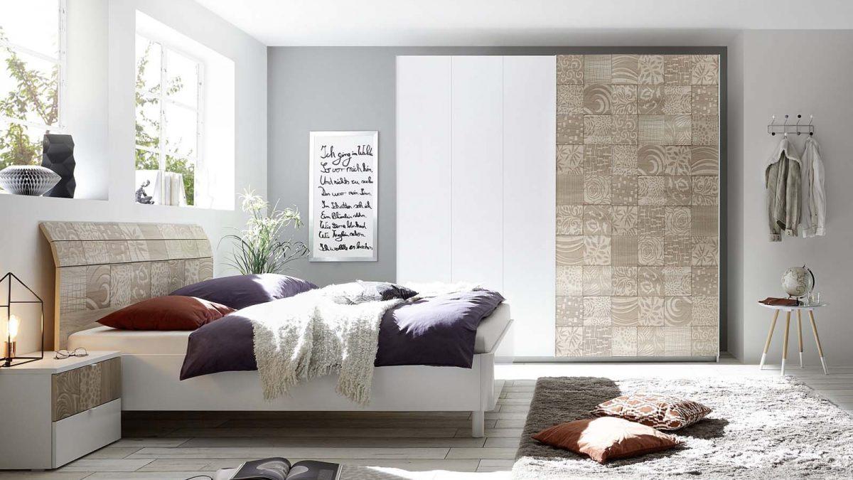 חדר שינה בצבע בז' garetta  бежевая спальня