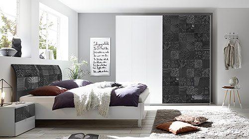 חדר שינה בצבע שחור garetta  чёрная спальня