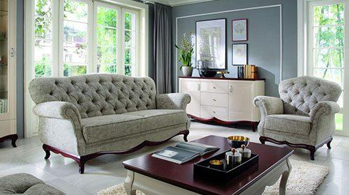 מערכת ישיבה בעיצוב קלאסי Диван в классическом стиле