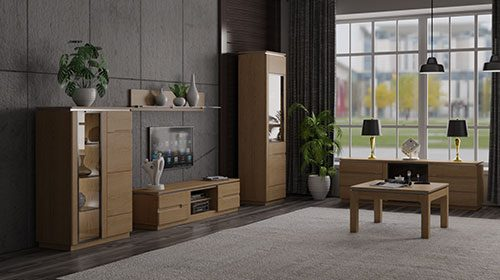 קולקציית רהיטים מעץ montecarlo