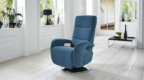 кресло с реклайнером в современном стиле