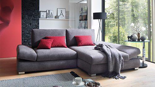 ספה עם שזלונג ומיטה