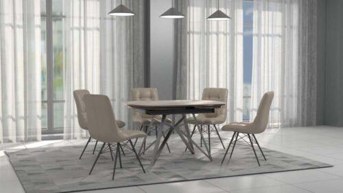 раскрывающийся стол в гостиную