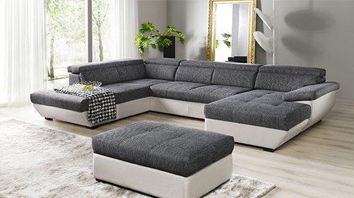модульный диван в форме U