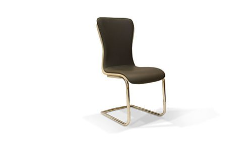 стул с никелевыми ножками