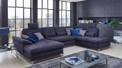 диван с кроватью формы П