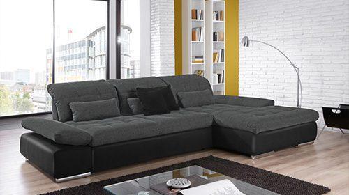 ספה עם שזלונג בעיצוב מודרני