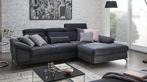модульный диван с шезлонгом