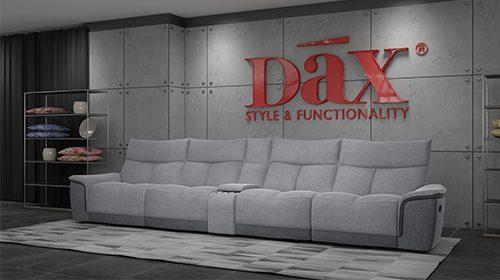 эргономический диван-четвёрка с реклайнерами