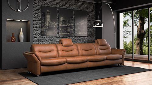 ספה 4 מושבים בסגנון Hi-Tech פרמיום