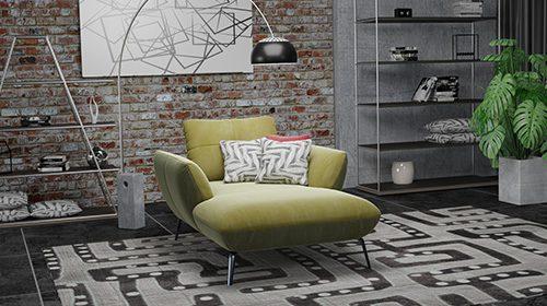 кресло с шезлонгом
