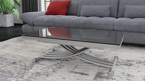שולחן קפה - טרנספורמר אפור